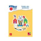 Logico Primo cartonaşe cu sarcini - Vopsea, foarfece, cuburi de construcție - în lb. maghiară