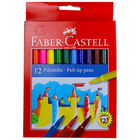 Faber-Castell: Set markere colorate - 12 buc.