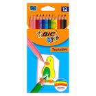 BIC Kids Tropicolor: set creioane colorate - 12 buc.