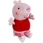 Peppa Pig: Pluş Purceluşa Peppa în fustă - 25 cm