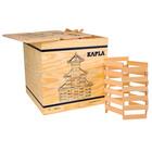 Kapla joc de construcție cu 1000 piese - lemn natur