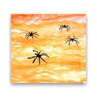 Pókháló - narancssárga