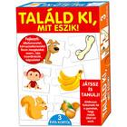 Ghiceşte, ce mănâncă? - joc cu instrucţiuni în lb. maghiară