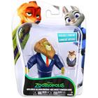 Zootropolis: Figurine Zootopia - Mayor Lionheart şi Lemming Businessman