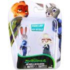 Zootropolis: Állati nagy balhé figurák - Judy Hopps és May Bellwther