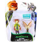Zootropolis: Figurine Zootopia - Nick şi Finnick