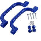 Sharky Set mânere pentru locuri de joacă 25x7,5 cm - albastru