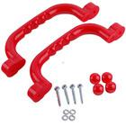 Sharky Set mânere pentru locuri de joacă 25x7,5 cm - roşu