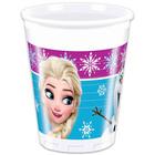 Prinţesele Disney: Frozen pahare din plastic - 200 ml