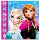 Prinţesele Disney: Frozen Anna şi Elsa şerveţele - 20 buc.