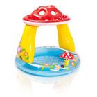 Piscină pentru bebeluși, cu cupolă ciupercă