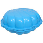 Kagyló homokozó - kék, 2 részes