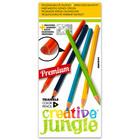 Creative Jungle 12 darabos háromszögletű színes ceruza készlet