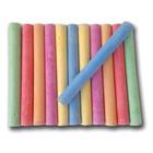 Creative Jungle 12 darabos kerek, pormentes kréta -  színes