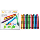 Creative Jungle: set pastele colorate - 12 buc.