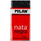 Milan extra puha radír - fekete