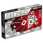 Geomag: fekete-fehér panel készlet - 104 darabos