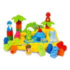Clemmy Plus - set parc de distracţie cu dinozauri cu 25 piese