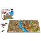 4D City Puzzle: Budapest alaprajzával, épületeivel, történelmével