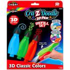 Cra-Z-Doodle: 3D toll utántöltő készlet