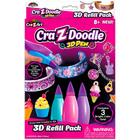 Cra-Z-Art 3D Toll utántöltő lányos színekben