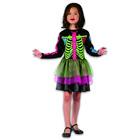 Costum schelet pentru fete - mărime 120-130