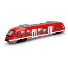 Dickie City Train nyitható ajtókkal - piros
