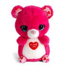 Nici: Jololo pink medve plüssfigura - 16 cm