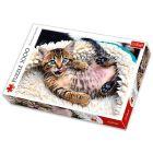 Trefl: Fekvő kiscica 1000 darabos puzzle