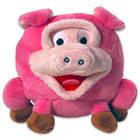 Grimasz Pajtik rózsaszín malacka plüssfigura - 12 cm