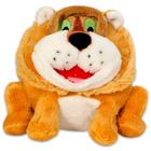 Grimasz Pajtik bátor oroszlán plüssfigura - 12 cm