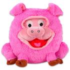 Grimasz Pajtik rózsaszín malac plüssfigura - 30 cm