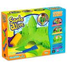 Sands Alive: klasszikus kinetikus homok készlet - zöld