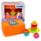 Tomy: Brioşe - joc sortare pentru bebeluşi