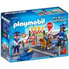 Playmobil: Rendőrségi útlezárás 6924