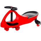BoboCar Mașinuță fără pedale cu roţi din cauciuc - culoare roşie
