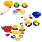 Set de cofetărie din plastic - diferite culori