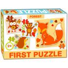 Primul meu puzzle: animale de pădure