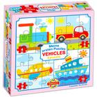 Vehicule puzzle 4-în-1