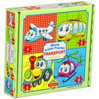 Tömegközlekedés 4 az 1-ben puzzle