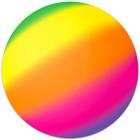 Minge curcubeu - 23 cm, colorat