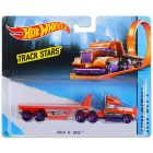 Hot Wheels Track Stars: Camion Hitch N Haul - portocaliu