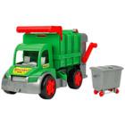 Wader: farmer óriás kukásautó - 65 cm, zöld
