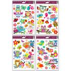 Stickere decorative pentru geamuri - model bufniţă, diferite