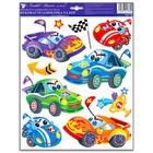 Sticker perete - model maşini de curse