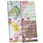 Herlitz: x.book caiet cu pătrăţele cu model floral - A4, diferite