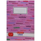 Herlitz: szótárfüzet - rózsaszín, 31-32