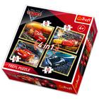 Cars 3 puzzle 4-în-1