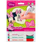 Minnie egér: színezhető lufi filccel