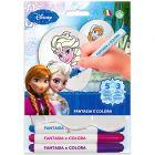 Disney hercegnők: Jégvarázs színezhető lufi filccel, 3 db-os
